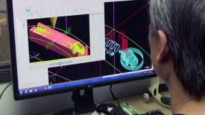 Mission Rubber's in-house mold shop maintains flexibility, speed, and superior finish with Mastercam® CAD-CAM software.